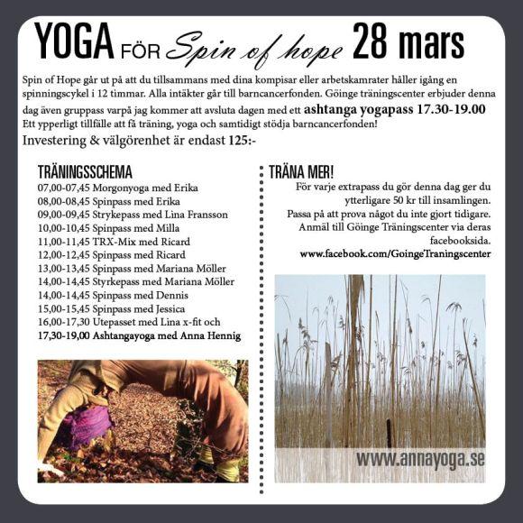 Yoga 28 mars