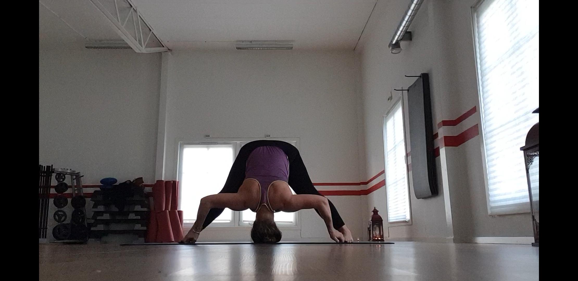 Yogans effekter- prasarita padottanasana